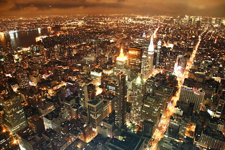 NY vom Empire State Building